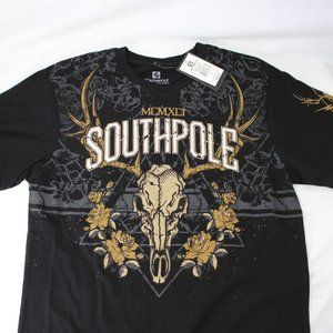 Southpole Elk Graphic Tee Small